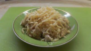 Салат из индейки с лавашом / Быстрый салат Рецепт