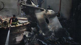 'I saw so much smoke and fire': Survivor recalls aftermath of Pakistan jet crash