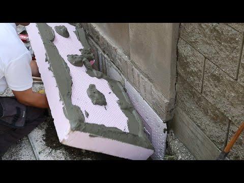 Jak postupovat a na co dát pozor při zateplování základů a soklu