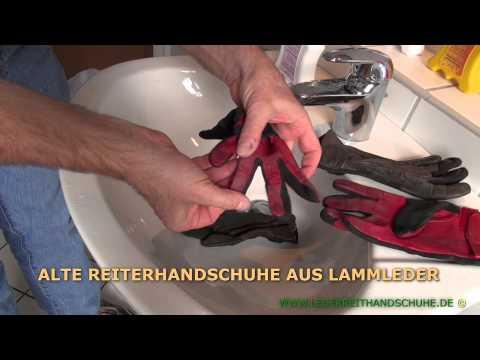 Wasch- und Pflegeanleitung für Leder(reit)handschuhe
