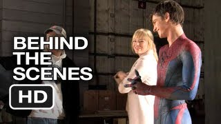 The Amazing SpiderMan  Behind The Scenes  Screen Test 2012 Andrew Garfield Emma Stone Movie HD