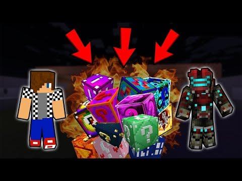 NEJŠÍLENĚJŠÍ MIX LUCKY BLOCKŮ VŮBEC !!! - Minecraft Lucky Block Race w/ Vendali