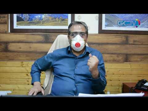 Advisor Baseer Khan appeals to public to wear masks
