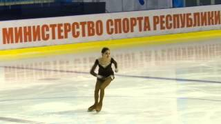Смотреть онлайн Произвольная программа Евгении Медведевой 2015