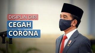 Joko Widodo Sampaikan Pesan agar Masyarakat Disiplin Diri untuk Cegah Corona