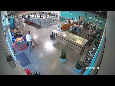 Laundromat Offers Preview of Police-Free Society