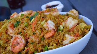 Cook My Crowd Pleasing Shrimp Fried Rice With Me!