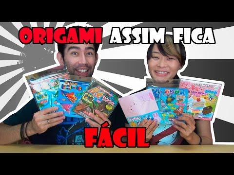 Papel de origami para Iniciantes - Japão Nosso De Cada Dia
