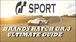 GT Sport Brands Hatch Ultimate Guide GR.3 Top 10 Stars