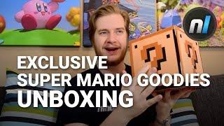 Exclusive Super Mario Maker 3DS Bonus Merch | Super Mario Maker 3DS Preorder Unboxing