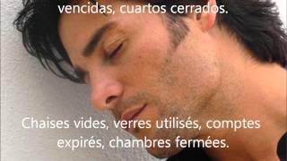 Chayanne-No sé por qué- letra en español (subtítulos en francés)