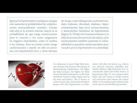 El efecto de la presión arterial en el nivel de azúcar en la sangre