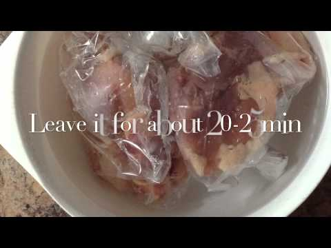 Trick; How To Quickly Defrost Meat Without Microwave