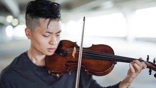 "Video thumbnail of ""BTS (방탄소년단) - FAKE LOVE - Violin cover by Daniel Jang"""