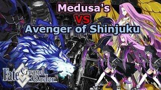 Gorgon  - (Fate/Grand Order) - Medusa's VS Avenger of Shinjuku - Shinjuku [FGO NA]