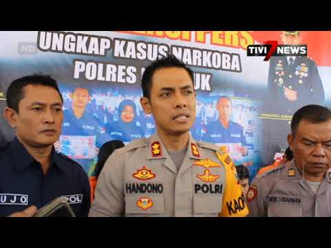 NGANJUK - 5 Pengguna Narkotika Dan 2 Pengedar Pil Double L Diciduk Polisi