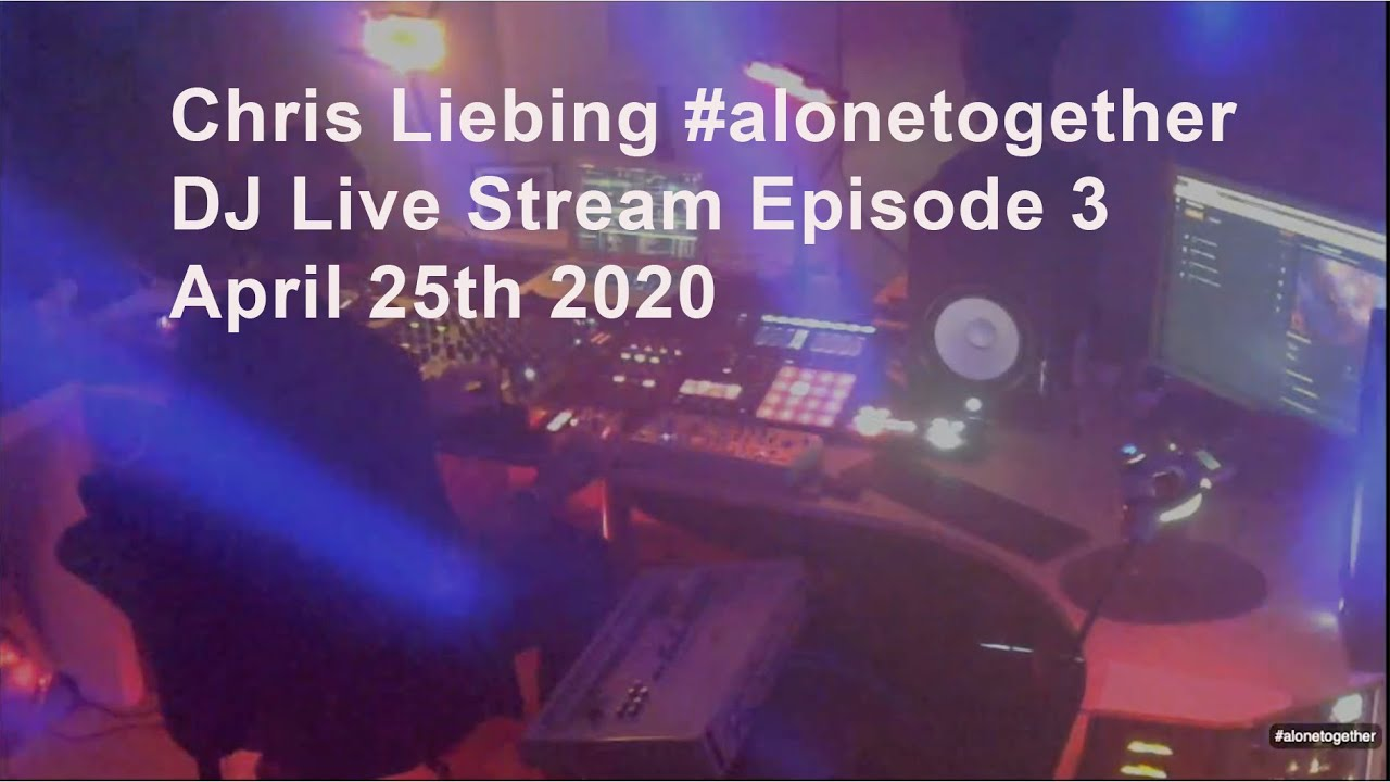 Chris Liebing - Live @ Live @ #alonetogether #3 2020