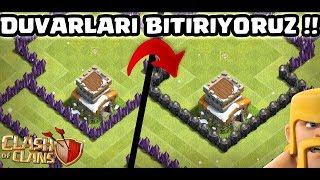 MASRAFLI DUVARLARI 8 BASTIK !! | Clash Of Clans