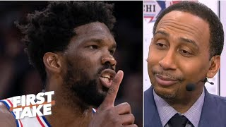 More Stephen A. on the 76ers: https://www.youtube.com/watch?v=gcKjZ8wNmnU Stephen A. Smith, Scottie Pippen and Max Kellerman debate whether Philadelphia 76ers big man Joel Embiid can be the best player on a championship team. #FirstTake #NBA ✔ Subscribe to ESPN+ https://plus.espn.com/ ✔ Get the ESPN App: http://www.espn.com/espn/apps/espn ✔ Subscribe to ESPN on YouTube: http://es.pn/SUBSCRIBEtoYOUTUBE ✔ Subscribe to ESPN FC on YouTube: http://bit.ly/SUBSCRIBEtoESPNFC ✔ Subscribe to NBA on ESPN on YouTube: http://bit.ly/SUBSCRIBEtoNBAonESPN ✔ Watch ESPN on YouTube TV: http://es.pn/YouTubeTV  Exclusive interviews with Rachel Nichols https://urlzs.com/jNURe Stephen A. Smith on ESPN https://urlzs.com/W19Tz  ESPN on Social Media: ► Follow on Twitter: http://www.twitter.com/espn ► Like on Facebook: http://www.facebook.com/espn ► Follow on Instagram: www.instagram.com/f/espn  Visit ESPN on YouTube to get up-to-the-minute sports news coverage, scores, highlights and commentary for NFL, NHL, MLB, NBA, College Football, NCAA Basketball, soccer and more.   More on ESPN.com: https://www.espn.com
