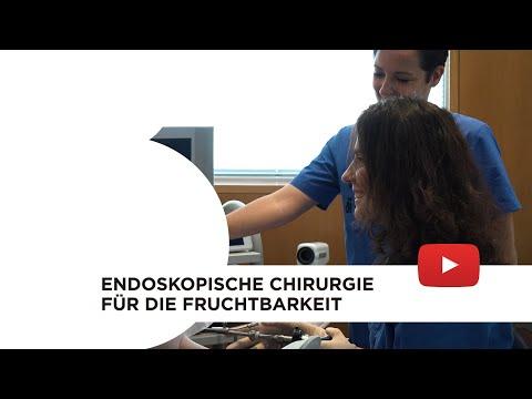 Endoskopische Chirurgie für die Fruchtbarkeit