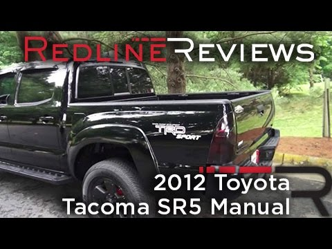 2012 Toyota Tacoma SR5 Manual Walkaround, Exhaust, Review, and Test Drive