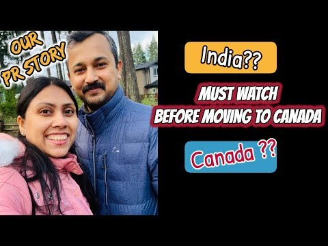 Life in Canada as an Immigrant - My experience of India to Canada & My PR Story - English Subtitle