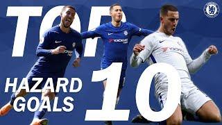 TOP 10: Eden Hazard Goals | Chelsea Tops