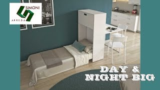 Mobile letto Day & Night Big | CasaTrasformabile.it