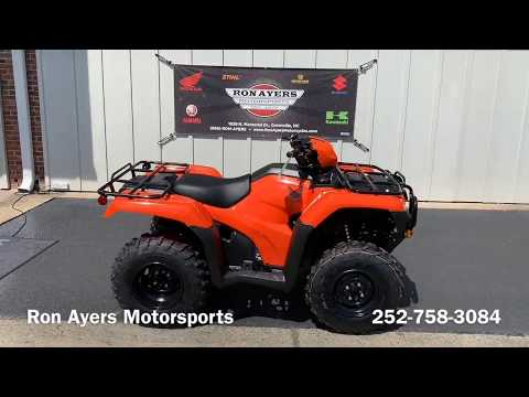 2019 Honda FourTrax Foreman 4x4 ES EPS in Greenville, North Carolina - Video 1