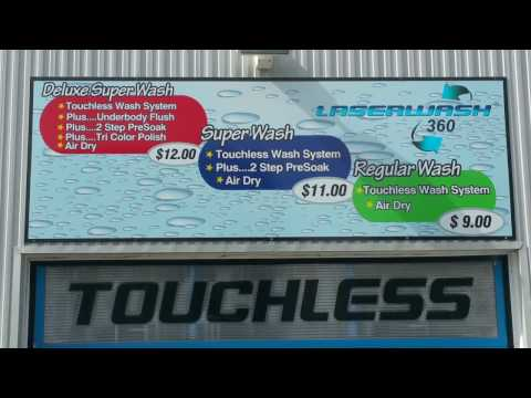 Review of the Woodstock Laserwash Automatic Car Wash / Touch vs Touchless