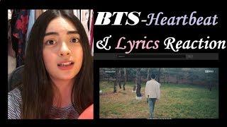 BTS (방탄소년단)   HEARTBEAT (BTS World OST) PLUS Lyrics Reaction!