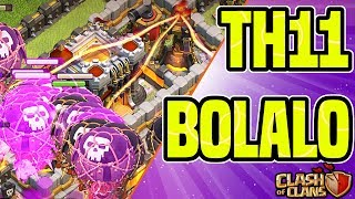 BOLALO - BOLALOON BEST ATTACK STRATEGY AT TH11 | Clash of Clans