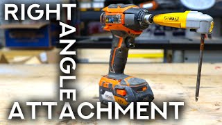 You Need A Right Angle Drill Attachment In Your Woodworking Tool Box