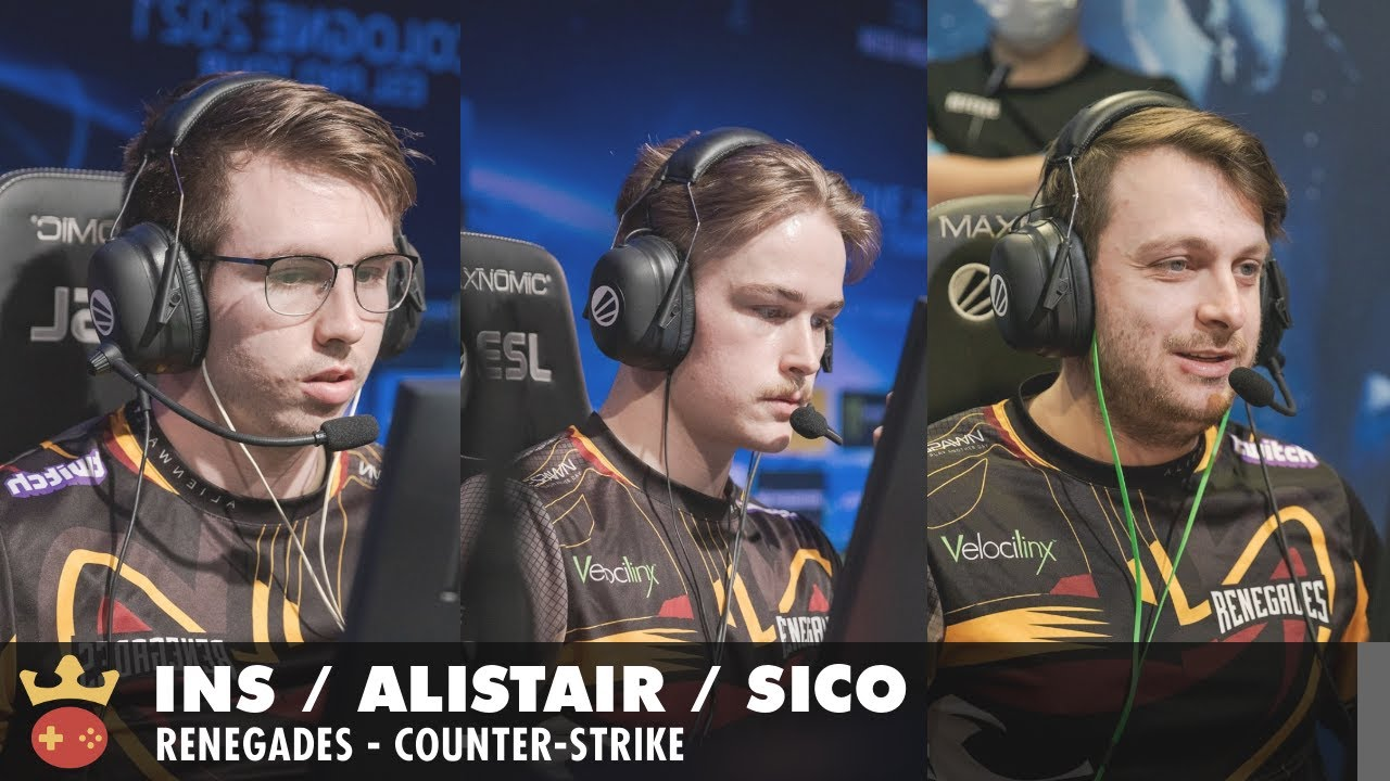 Video of Interview with INS, aliStair, and Sico from Renegades at IEM Fall 2021