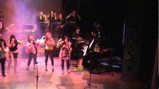 Dancin Days_Musical Meu Brasil Brasileiro(Jéssica_Taís_Daura_Isis_Rita)