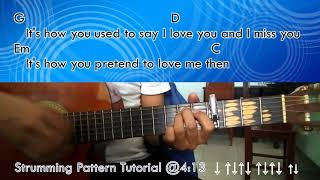 I Need You More Today - Caleb Santos - Guitar Chords