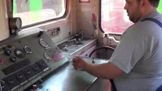 preview picture of video 'Manovre a Luino: Museo ferroviario del Verbano'