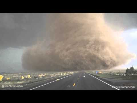 Getting Up Close with a Massive Tornado