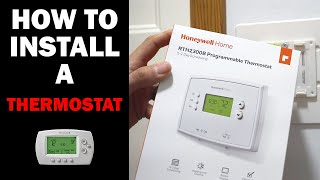How to Install a Honeywell Thermostat