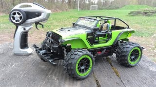 Carrera Profi RC Jeep Trailcat - 50kmh High Speed RC Car - Testbericht & Testfahrt
