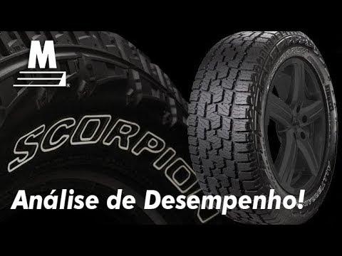 Analise do Pneu Scorpion AT Plus Pirelli!