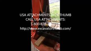 kubota bh77 backhoe thumb - Free video search site - Findclip