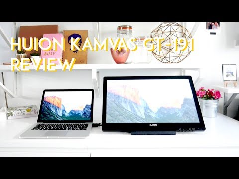 Huion Kamvas GT-191 · Tablet Review · Better Than The iPad Pro??