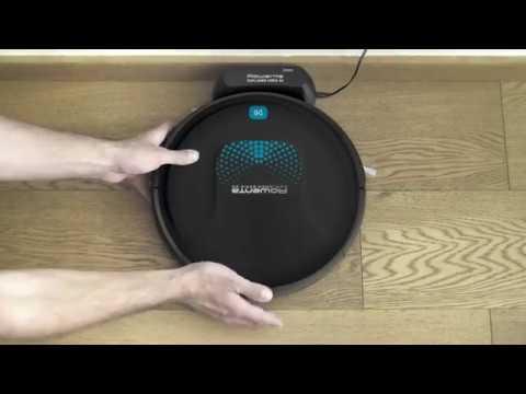 Robot Aspirador Explorer Serie 20 Aqua Negro
