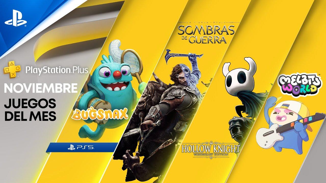 Revelados los detalles de PlayStation Plus Collection y tus juegos de noviembre de PlayStation Plus