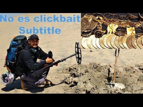 🔴Mochilero encuentra oro perdido en playa de México. CTX 3030 subtitle
