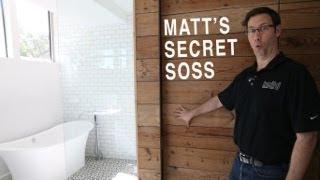 Hidden Door In A Wood Wall - Soss Hinge Review