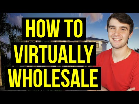 Virtual Wholesaling in 2021 🖥️ 🏠 🚀   Step by Step Beginners Guide  