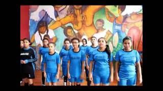 Equipo de Futbol femenino.Barrio El Tule, Matagalpa