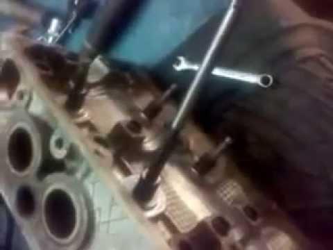 Фото к видео: ремонт головы мазда 626 f6